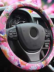 Mazda Steering Wheel Cover for Four Seasons Rose Blue and Black