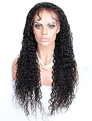femmes brésiliennes couleur de cheveux vierges (# 1 # 1b # 2 # 4) avant perruques de cheveux bouclés