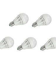 5pcs MORSEN® E27 5W 9xSMD5630 400LM LED Globe Bulbs