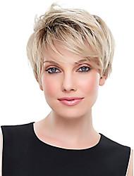 dame de vente chaud perruques couleur blond perruques de cheveux synthétiques