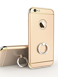 Luxury Electroplate Metal Coating 3 in 1 Protective Back Cover Hard iPhone Case with Stand for iPhone 6S/iPhone 6