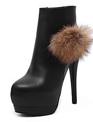 Women's Shoes Leatherette Stiletto Heel Heels / Gladiator / Comfort / Novelty / SlippersSandals / Heels /
