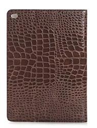mode crocodile mince étui en cuir de haute qualité pour ipad smart cover pro avec le cas de motif alligator stand