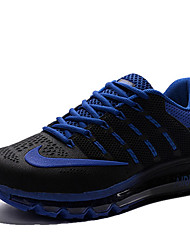 Nike Air Max Running Shoes Men's Wearproof Green / Red / Gray / Black / Blue / Dark Blue / Orange Running/Jogging Lace-up Fabric