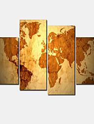 Stampe a tela Moderno Quattro Pannelli Orizzontale Decorazioni da parete For Decorazioni per la casa