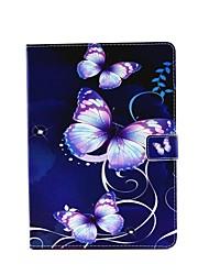 personalidade pintado pu couro aleta coldre shell para AIR3 iPad / iPad Mini Pro