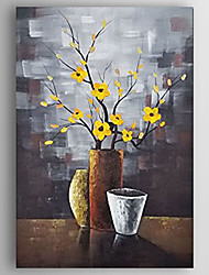 Oil Painting Flower in a Vase Hand Painted Canvas with Stretched Framed Ready to Hang