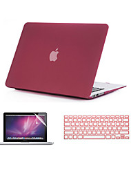 "3 in 1 Quicksand Matte Full Body Case  with Keyboard Cover and Screen Protector  for  MacBook Air 11""/13"""