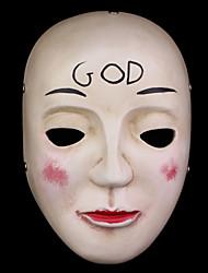 The Purge GOD Male Black / Green / Brown Cosplay Masks Mask