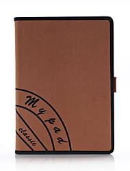 для Apple Ipad воздуха IPad крышка корпуса 5 ретро холст смарт пу кожи с ручной ремешок стенд