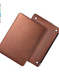 """mais novo de seda pu laptop superfície caso da tampa do corpo inteiro para o ar macbook 11 """"/ 13"""""""