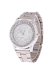 Unisex Hot New European Style Casual Fashion Stainless Steel Rhinestones Watch Cool Watches Unique Watches