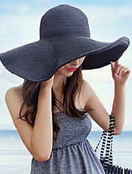 Korean Version Of The Summer Beach Hat Large Brimmed Hat Bow Dome Lady Hat