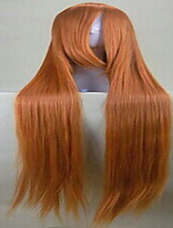 New Arrival Cosplay Wig Party Wig Blonde Super Long Straight Animated Synthetic Hair Wigs Cartoon Wig