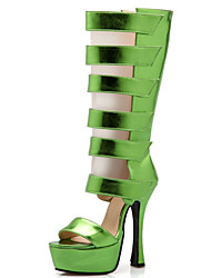 Women's Shoes PU Stiletto Heel Heels / Peep Toe / Platform / Gladiator Sandals Party & Evening / Dress / Casual