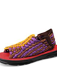 Chaussures Hommes-Décontracté-1# / # 2-Microfibre-Sandales