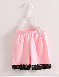 Hot Sale Summer Black Lace Cotton Children Kids Girls Baby Casual Shorts Trousers Safe Short Pants