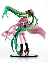 Nigaito Vocaloid Military Style Hatsune Miku Japanese Anime PVC Figure Ver.20cm
