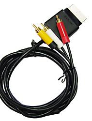 av TV Cinch-Audio-Video-optisches Kabel für Microsoft Xbox 360 Slim Konsole