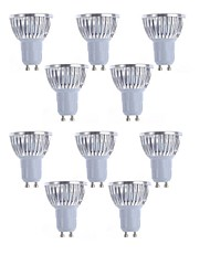 10pcs  4W GU10/GU5.3/E27/E14 450LM Light LED Spot Lights(90-260V)