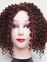 Europe And The United States Black Brown Curls Hair Wigs