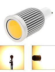 7W GU10 Точечное LED освещение MR16 1 COB 850 lm Тёплый белый / Холодный белый Регулируемая AC 220-240 / AC 110-130 V 1 шт.