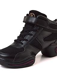 Zapatos de baile(Negro) -Zapatillas de Baile-No Personalizables-Tacón Cubano