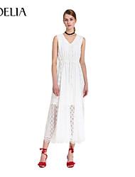 Goelia® Women's V Neck Sleeveless Above Knee Dress-165W4A14A