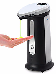400ML Innovative Infrared Smart Sensor Touch Free Automatic Liquid Soap&Sanitizer Dispenser for Kitchen Bathroom Home Bath Wash Hands