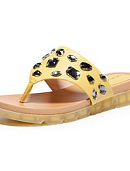 Aokang Women's Flat Heel Flip-Flops