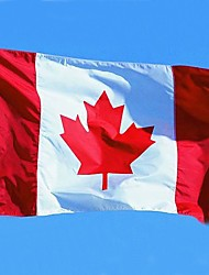 Canadian Flag Polyester Canada Maple Leaf Banner Outdoor Indoor