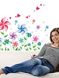 Мода Наклейки Простые наклейки,PVC 45*60cm(17.7*23.6 inch)