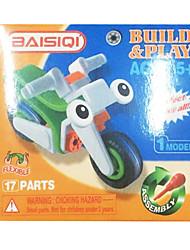 le puzzle est concept de lego blocs de construction de voiture