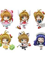 Cardcaptor Sakura Sakura Kinomodo PVC 5.5cm Anime Action-Figuren Modell Spielzeug Puppe Spielzeug