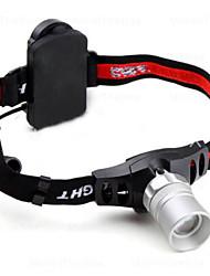 Fascia per torcia in testa LED 3 Modo 500 Lumens Messa a fuoco regolabile Cree XR-E Q5 AAACampeggio/Escursionismo/Speleologia / Uso