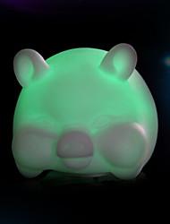 créative couleur changeante cochon coloré LED Veilleuse
