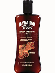 Hawaiian Tropic Hawaii Quick Beauty Black Dark Tanning Deep Bronze Tanning Oil 1Pc 240ml