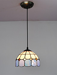 8inch Retro Tiffany Pendant Lights Glass Shade Living Room Dining Room light Fixture