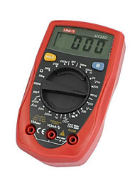 uni-t ut33d vermelha para multímetros digitais professinal