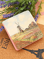 Pastoral Scenery Colorful Self-Stick Note(1 PCS Random Color)