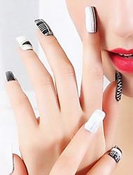oco etiqueta fina de metal a laser pvc jóias abstrato prego
