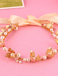 Women's Pearl / Alloy Headpiece-Wedding / Special Occasion Headbands 1 Piece