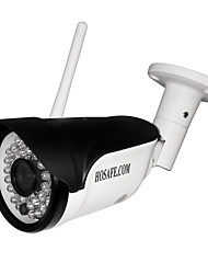 HOSAFE.COM 720P Wireless Bullet IP Camera ONVIF w/ 8GB Micro SD Card / 36 IR-LEDs
