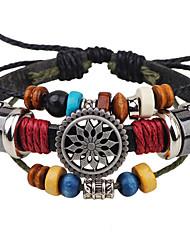Браслеты Кожаные браслеты Others Уникальный дизайн Мода Для вечеринок Бижутерия Подарок1шт