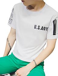 2016 new summer summer youth t-shirt short sleeve T-shirt Korean tide men's short sleeve clothes in summer