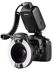 YONGNUO® YN14EX TTL Macro Ring Flash/ LED Flash Light for Canon EOS DSLR Cameras as Canon MR-14EX