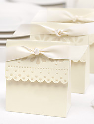 Elegant Ivory Tea Party Decorative Favor Box