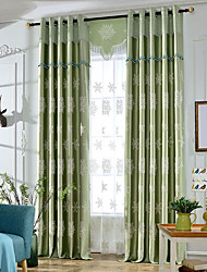 Embroidery living room blackout curtains window curtains for  room curtain fabric cortina pano home decorationno valance