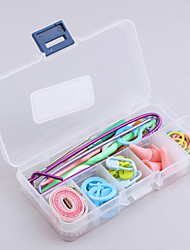 Knitting Accessories Case 60pcs Supply Set Basic Tools + Case Lots Pcs