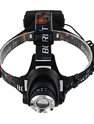 2 In 1 Headlamp/Bike Lamp CREE L2 LED Headlamp 3 Modes Zoomable Ultra Bright Headlight Flashlight Torch 2pcs 18650/USB